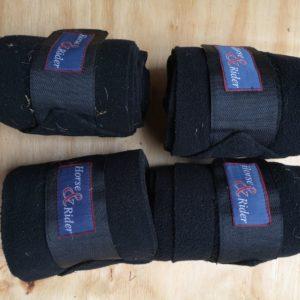 horse rider bandage,s